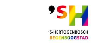 Logo 's-Hertogenbosch Regenboogstad