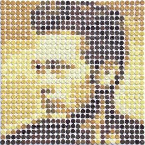 schilderij painting James Dean
