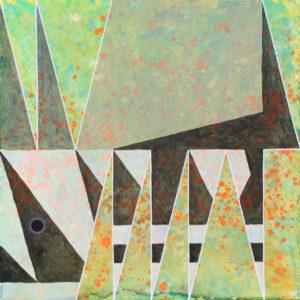 schilderij painting Gemsbok