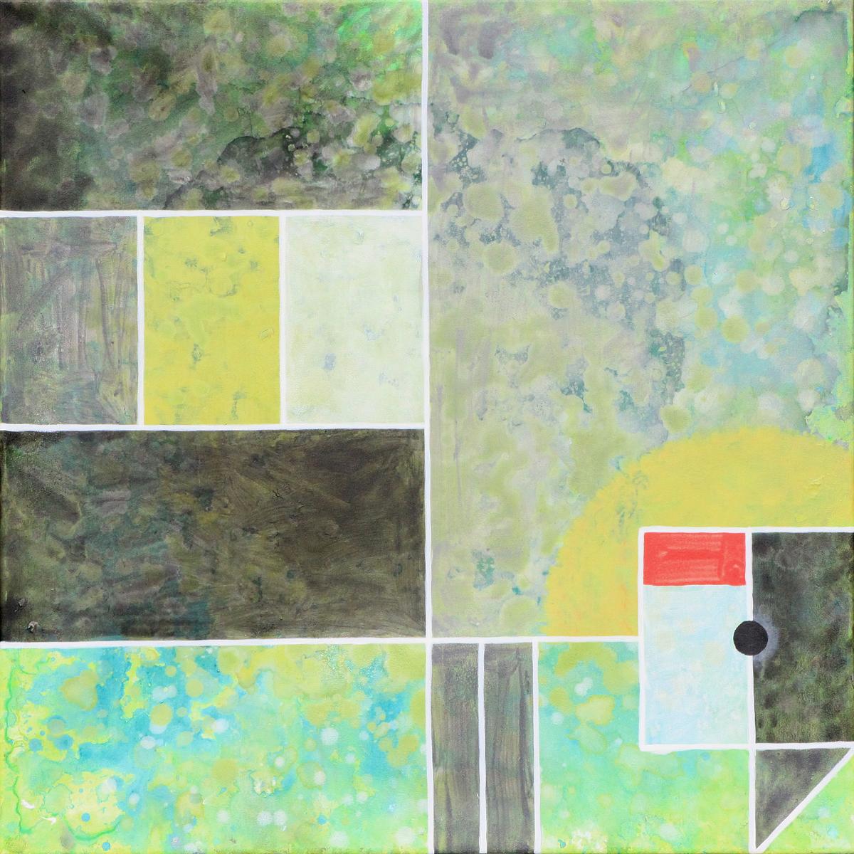 schilderij painting Kraanvogel