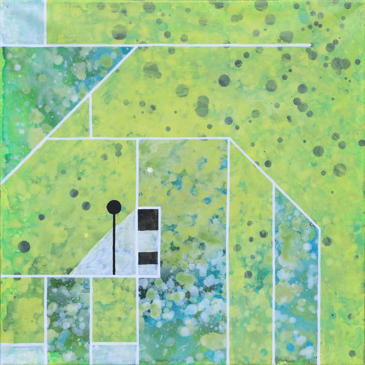 schilderij painting Cheetah
